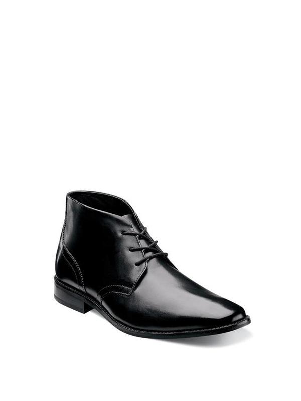Florsheim MONTINARO PLAIN TOE CHUKKA BOOT - black