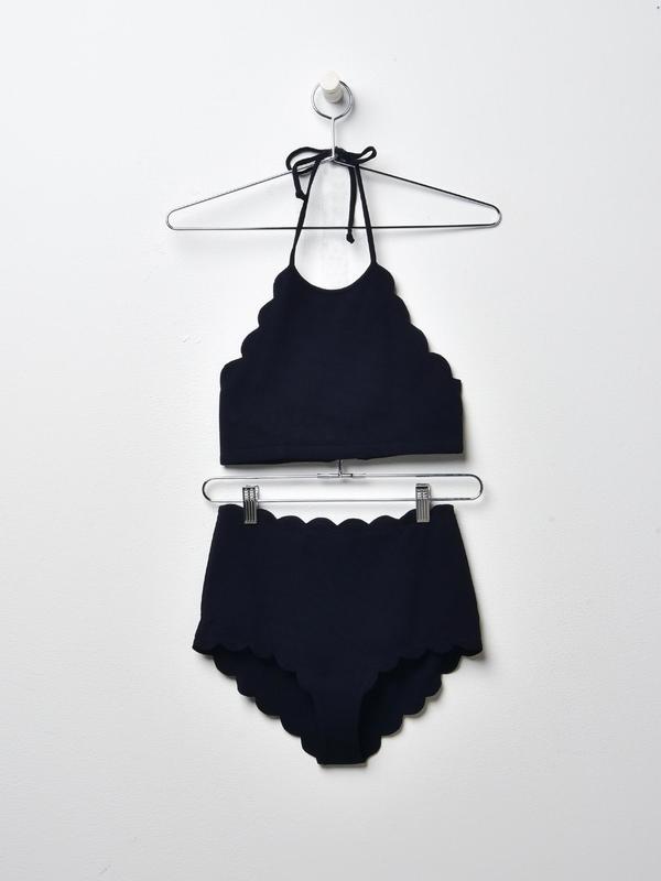 Mott Bikini Top and Santa Monica bottom Set_Black