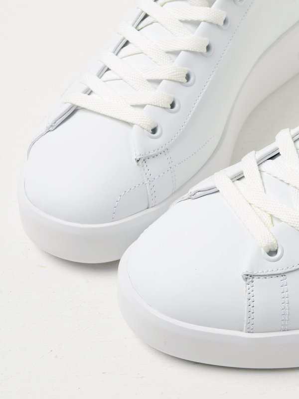 M_SNEAKERS PURE STAR_WHITE LEATHER-BLACK