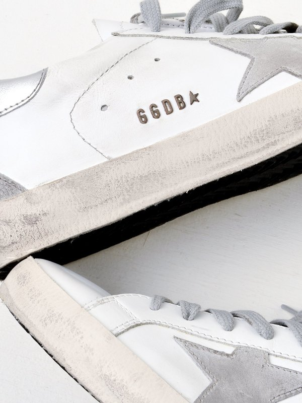 M_SNEAKERS SUPERSTAR_WHITE SILVER METAL LETTERING