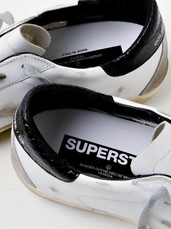 M_SNEAKERS SUPERSTAR_WHITE-BLACK PRINT CREAM SOLE
