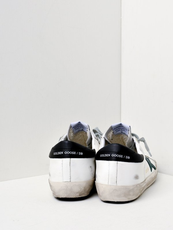 M_SNEAKERS SUPERSTAR_WHITE-PINE GREEN STAR