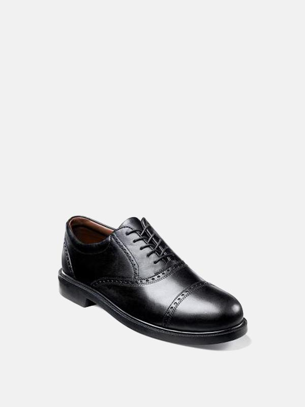 Florsheim NOVAL CAP TOE OXFORD - black