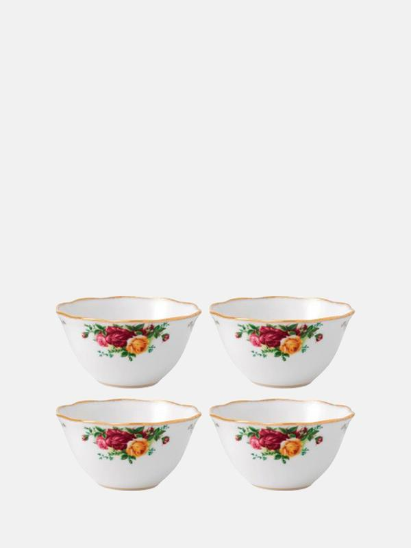 Old Country Roses Bowl Set Of 4