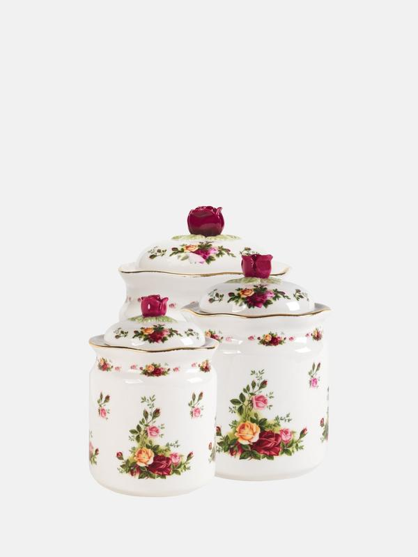Old Country Roses Canisters S4
