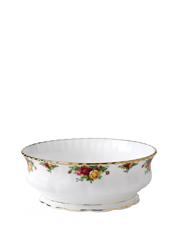 Old Country Roses Round Serving Bowl