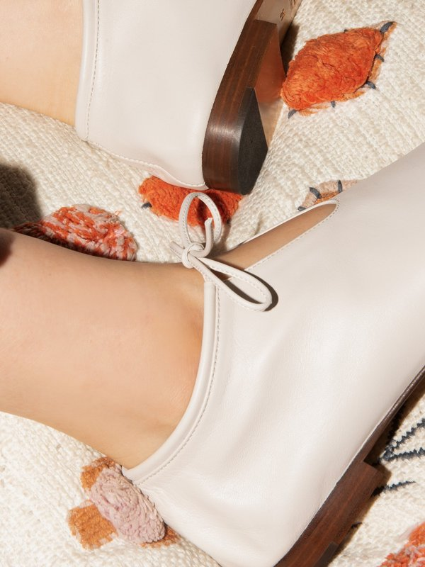 blush. Panna Tulipe shoes - N.CREAM