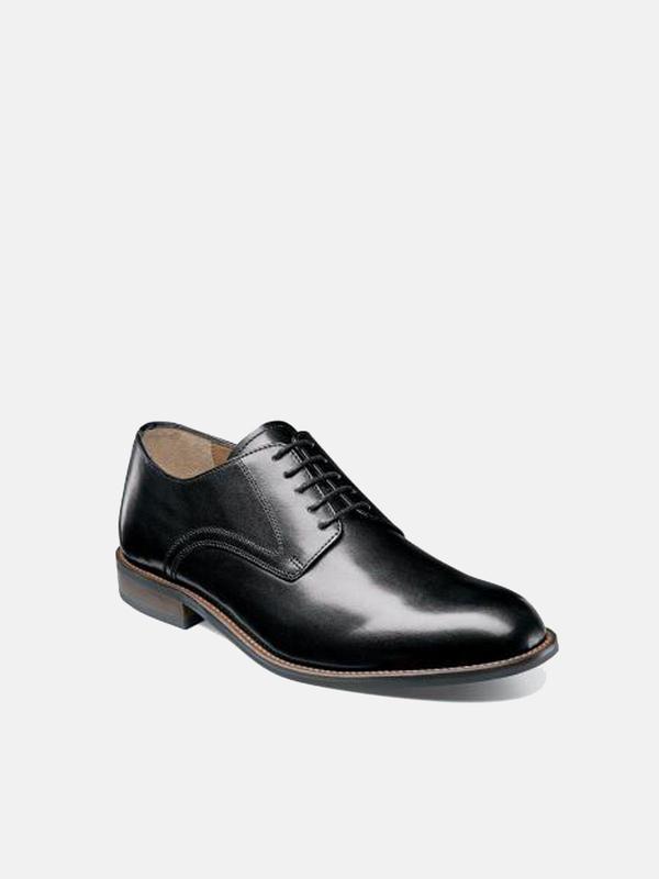 Florsheim PASCAL PLAIN TOE shoes - BLACK SMOOTH