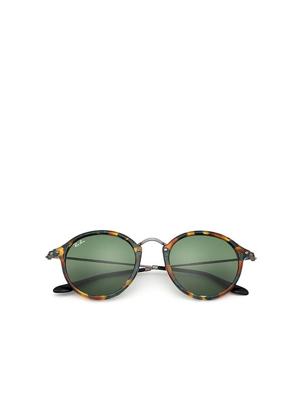 RB 2447 11594E SPOTTED GREEN HAVANA 49 SIZE