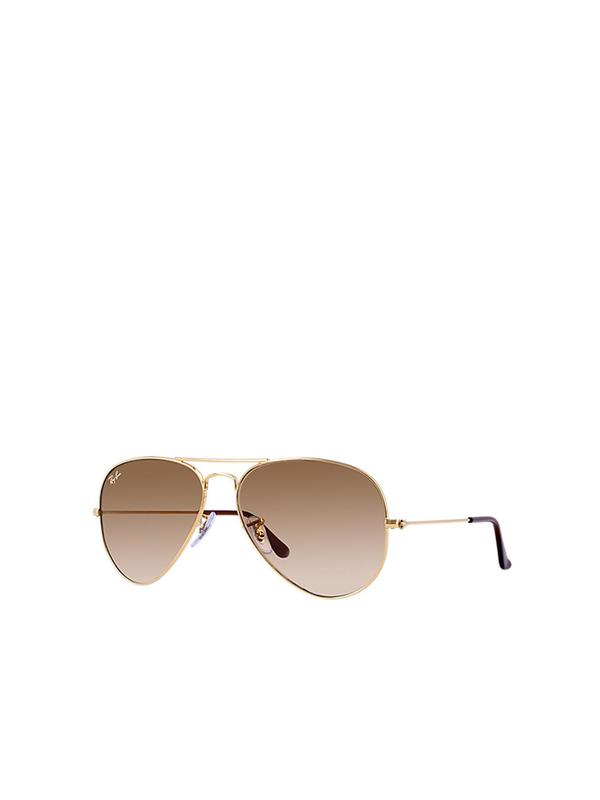 RB 3025 001/51 Gold_Light Brown Gradient 58 SIZE