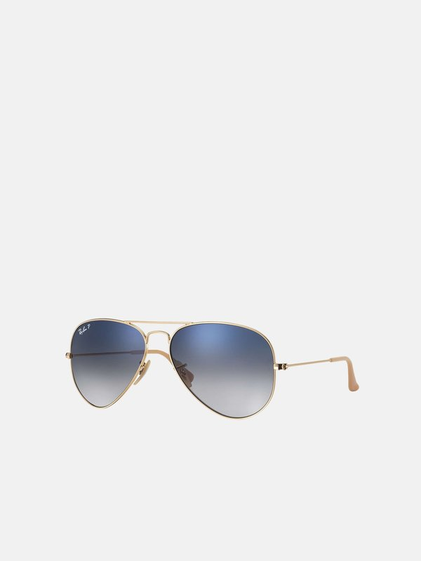 RB 3025 001/78 Gold_Polarized Blue/Grey Gradient