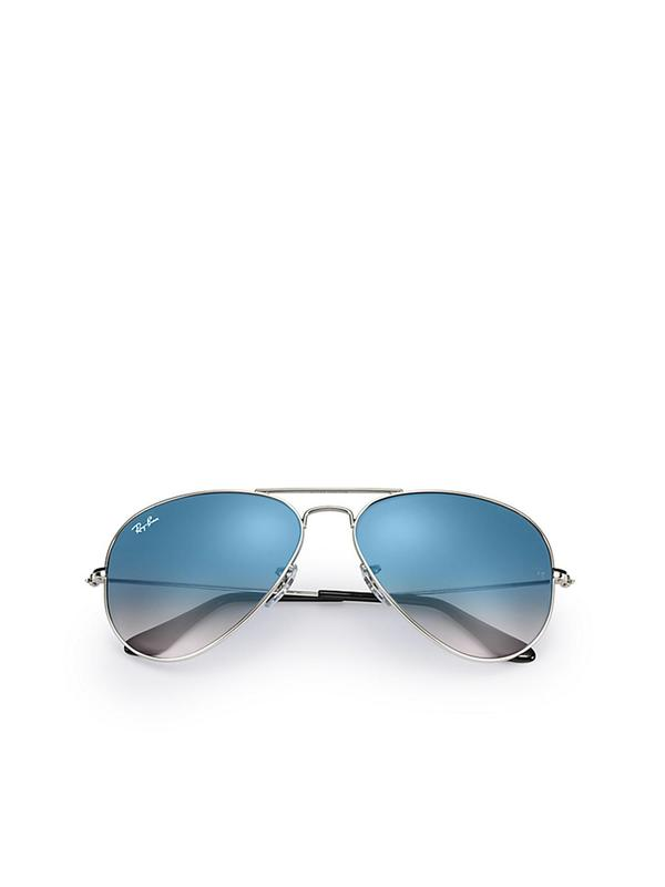 RB 3025 003/3F Silver_Light Blue Gradient 58 SIZE