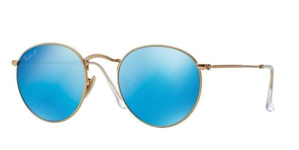 RB 3447 112/4L GOLD_Blue mirror 53 SIZE