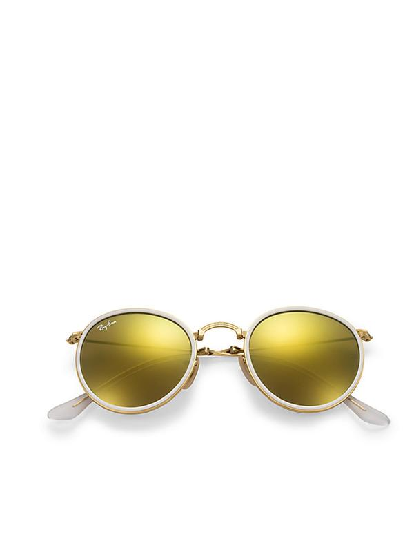 RB 3517 001/93 GOLD _ Brown Mirror Gold 51 SIZE