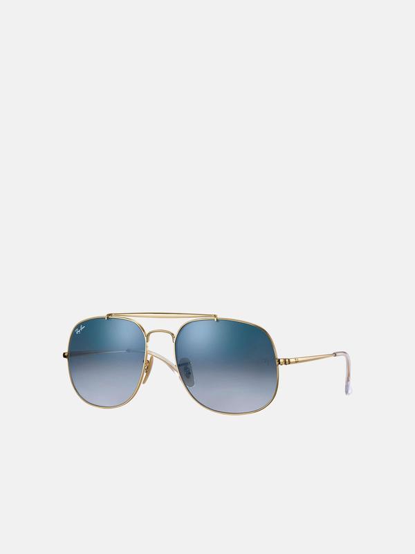 RB 3561 001/3F Gold_Light Blue Gradient 57 SIZE