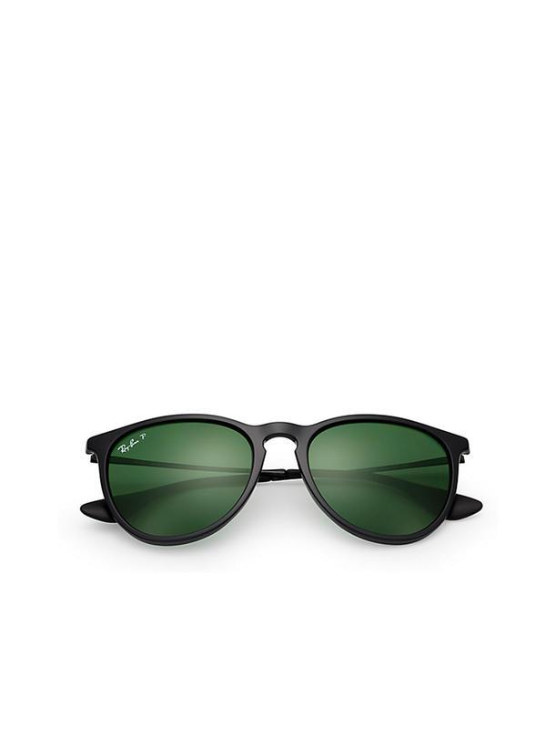 RB 4171 601/2P BLACK_polarized Green 54 SIZE