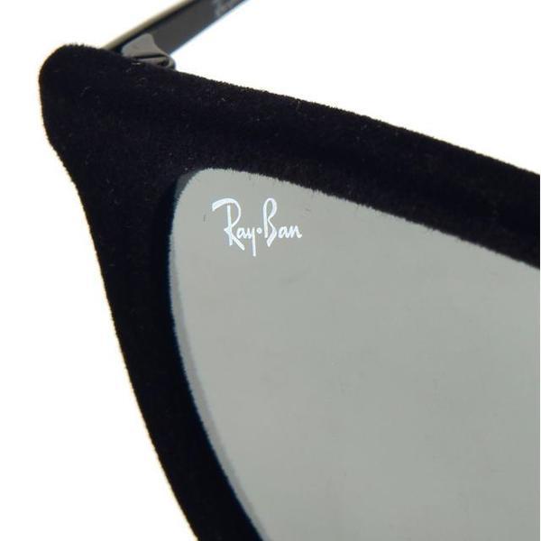 RB 4171 60756G VELVET BLACK_Grey Mirror 54 SIZE