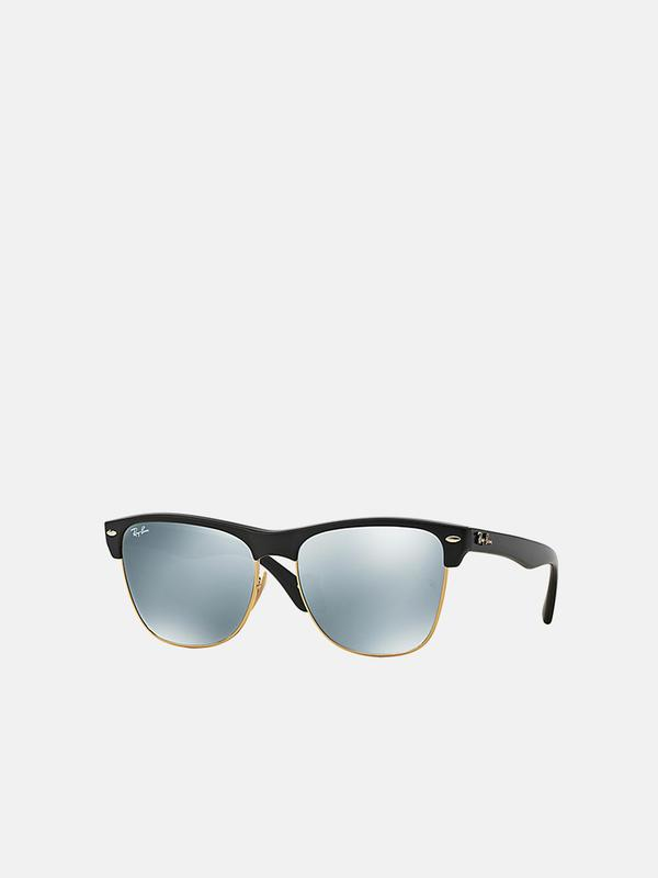 RB 4175 CLUBMASTER OVERSIZED 877/30 BLACK 57 SIZE