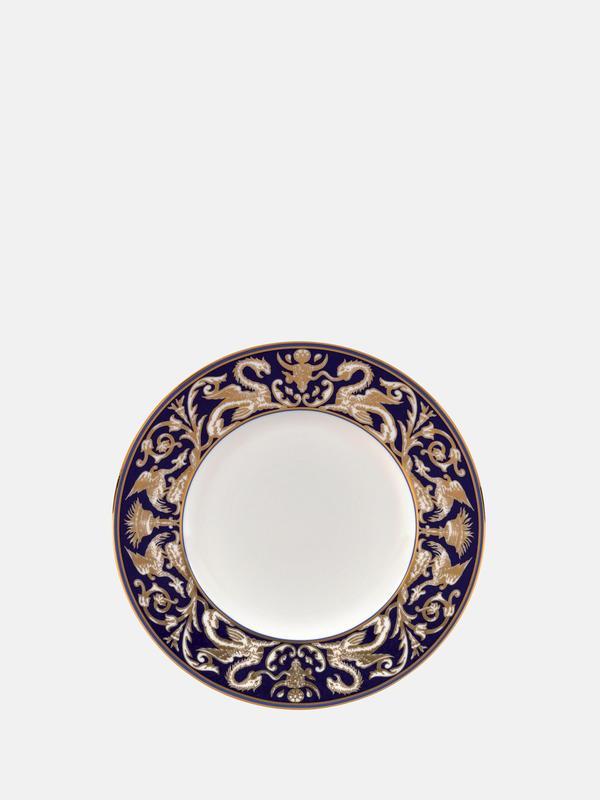 Renaissance Gold Scroll Accent Salad Plate