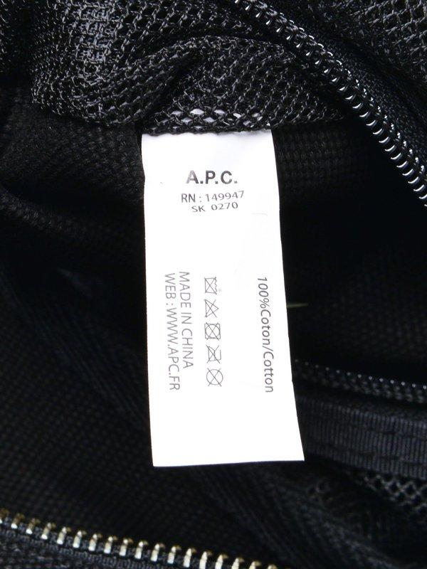 A.P.C. Sac A Dos Recuperation - Noir
