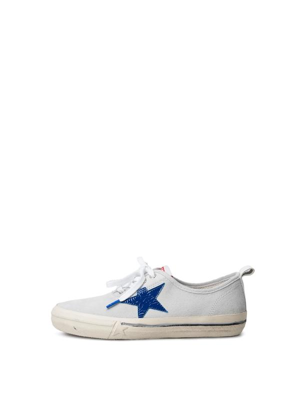 SNEAKERS CALIFORNIA_WHITE SUEDEDIFFERENT STAR