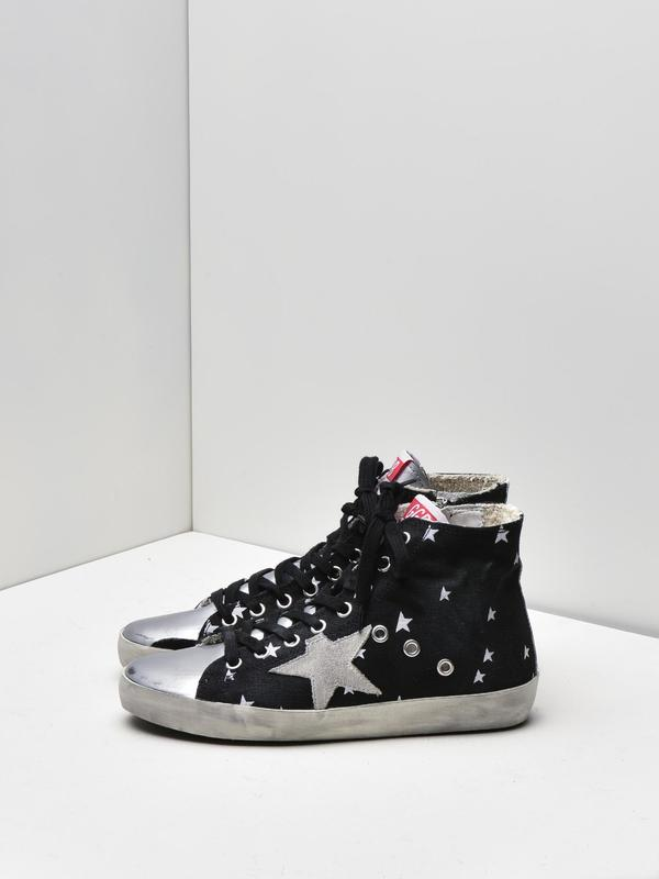 SNEAKERS FRANCY_ICOSMO STAR CANVAS-ICE STAR