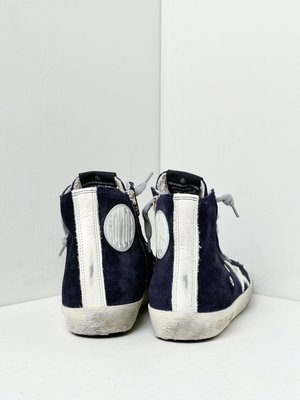 SNEAKERS FRANCY_NAVY SUEDE