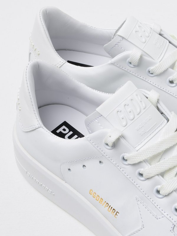 SNEAKERS PURE STAR_WHITE LEATHER-WHITE HEEL