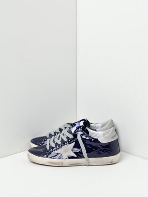 SNEAKERS SUPERSTAR_BLUE WAVE LEATHER-ICE STAR