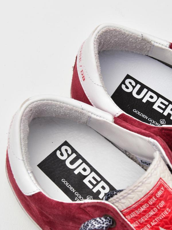 SNEAKERS SUPERSTAR_BRED SUEDE-WHITE