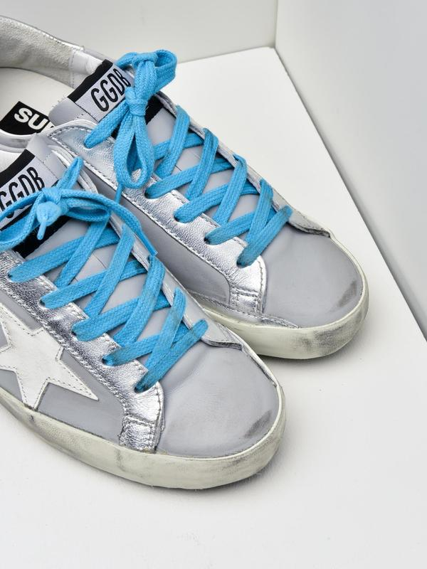 SNEAKERS SUPERSTAR_GREY LEATHER-WHITE STAR
