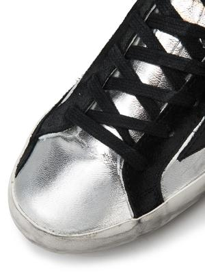 SNEAKERS SUPERSTAR_SILVER BLACK LEATHER