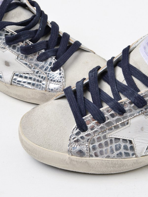 SNEAKERS SUPERSTAR_SILVER LAMINATED