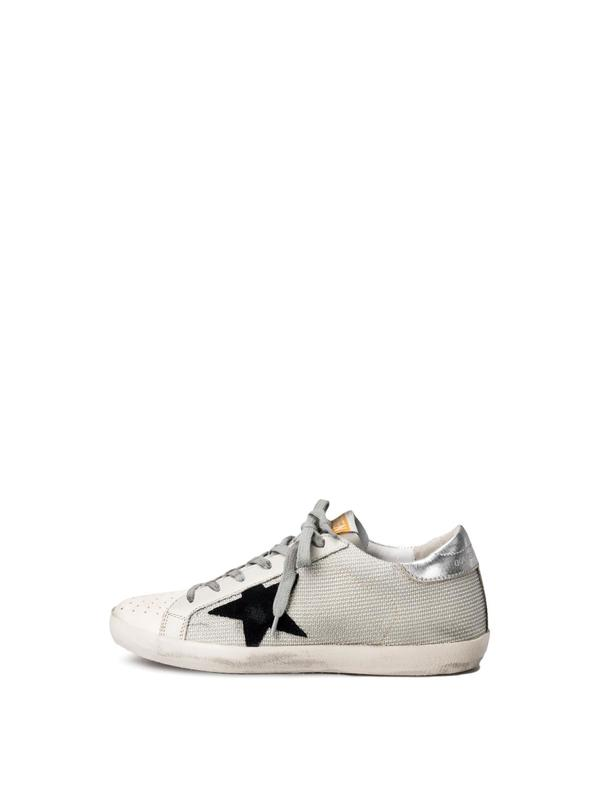 SNEAKERS SUPERSTAR_WHITE CORD SILVER LUREX