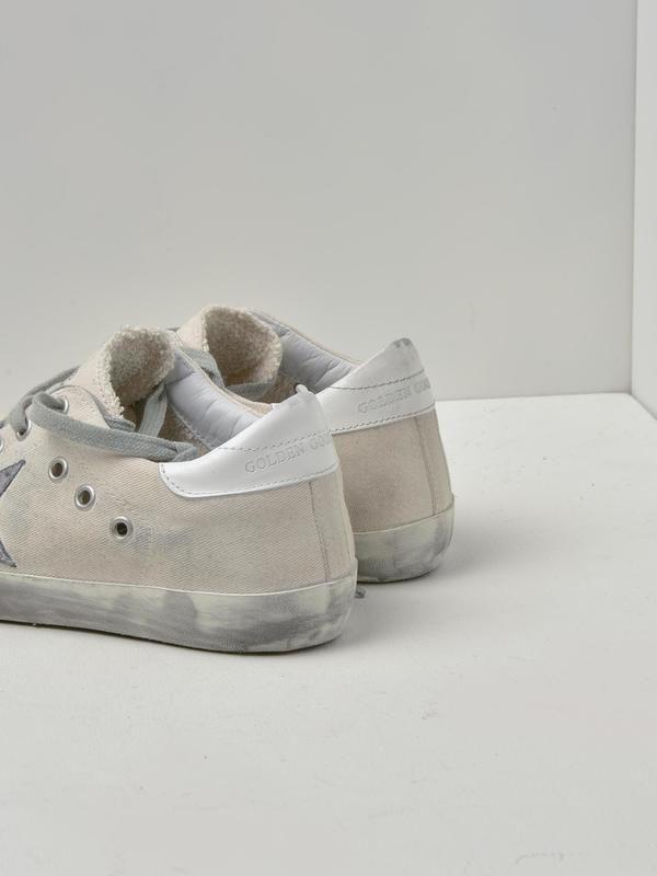 SNEAKERS SUPERSTAR_WHITE DRILL-SILVER STAR