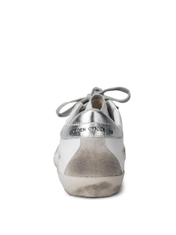 SNEAKERS SUPERSTAR_WHITE SILVER METAL LETTERING