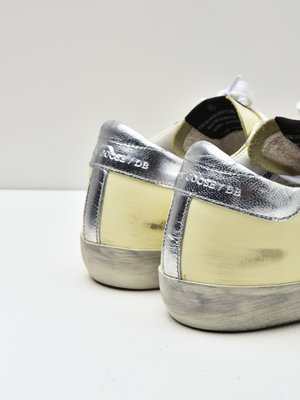 SNEAKERS SUPERSTAR_YELLOW PALE LEATHER-WHITE STAR