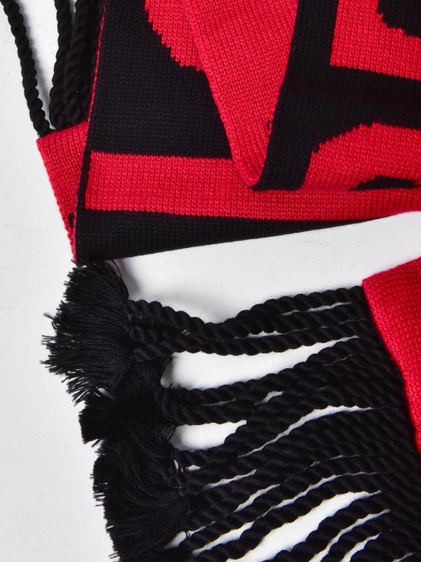 SORRY NOT SORRY SCARF_RED