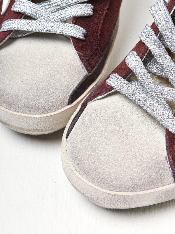 SUPERSTAR SUEDE UPPER STAR SHEARLING TONGUE
