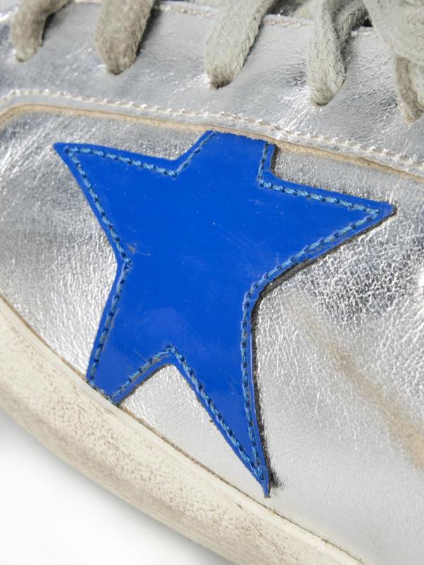 SUPERSTAR_SLIVER/RED AND BLUE STAR