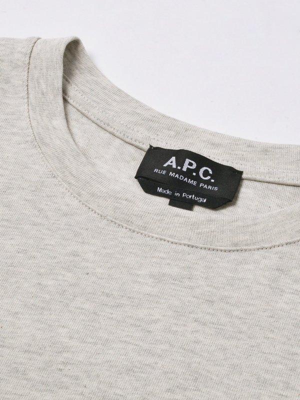 A.P.C. Denise T-shirt - Heathered Ecru