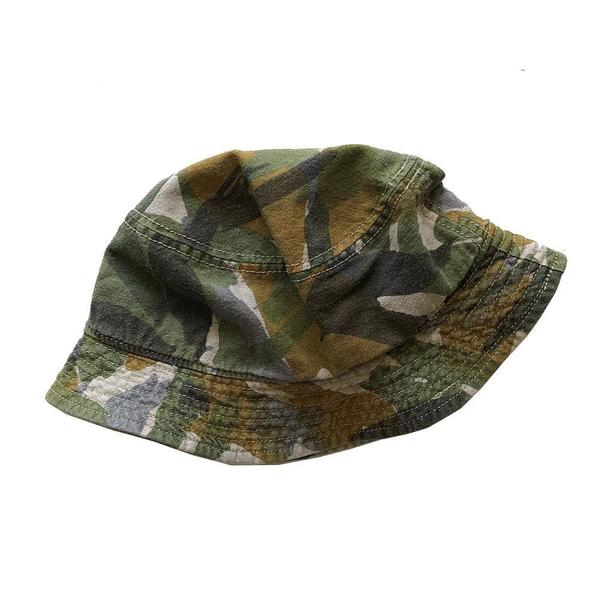 Nigel Cabourn Bucket Hat - SUMMER CAMO