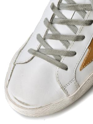 W. SNEAKERS SUPERSTAR_ WHITE LEATHER/GOLD STAR