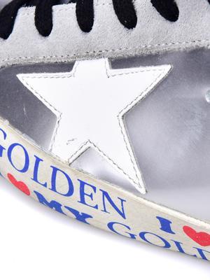 W. SNEAKERS SUPERSTAR_SILVER/LOVE GOLDEN
