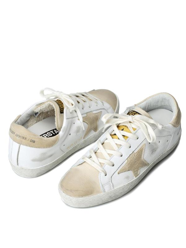 W. SNEAKERS SUPERSTAR_WHITE LEATHER/AVORY STAR
