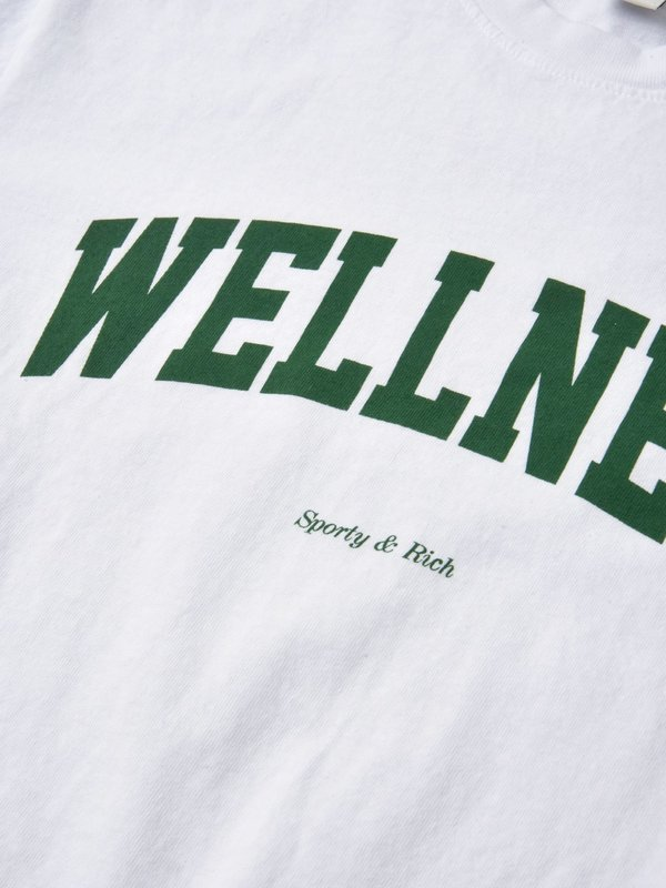 Sporty & Rich Wellness Ivy T-shirt - White