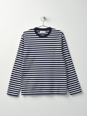 W_TRICOLOR FOX PATCH CLASSIC MARIN TEE-SHIRT_NAWH