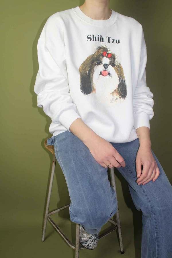 Vintage Shih Tzu Sweatshirt