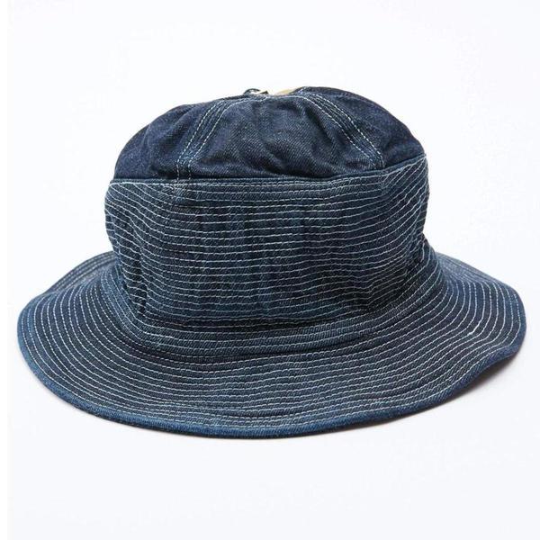 Kapital 12oz Denim The Old Man and the Sea Hat - Dark Indigo