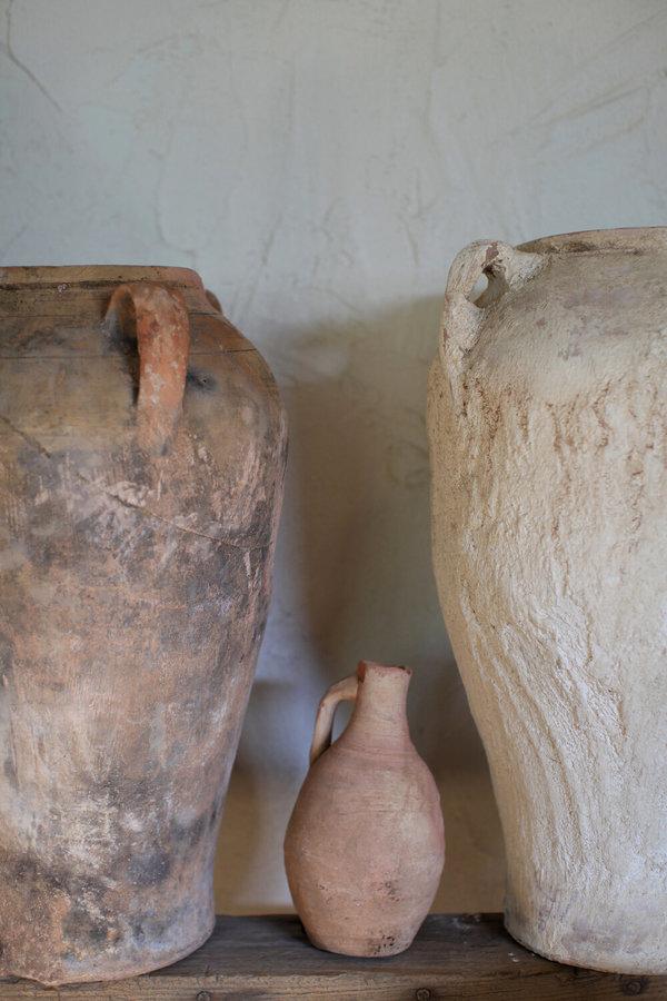 Vintage Antique Moroccan Olive Jar